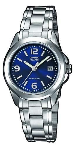 Casio Damen-Armbanduhr Classic Analog Quarz Edelstahl LTP-1259PD-2AEF