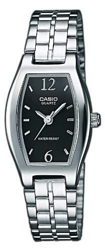 Casio Damen-Armbanduhr Classic Analog Quarz Edelstahl LTP-1281PD-1AEF