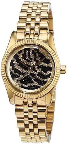 Michael Kors Damen-Armbanduhr Analog Quarz Edelstahl gold beschichtet MK3300