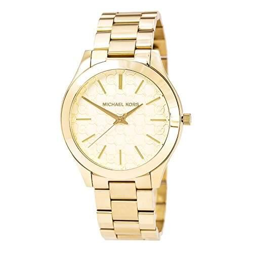 Michael Kors Damen-Armbanduhr Analog Quarz Edelstahl MK3335