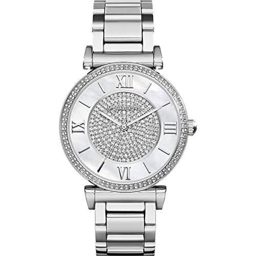 Micheal Kors Damen-Armbanduhr Analog Quarz Edelstahl MK3355