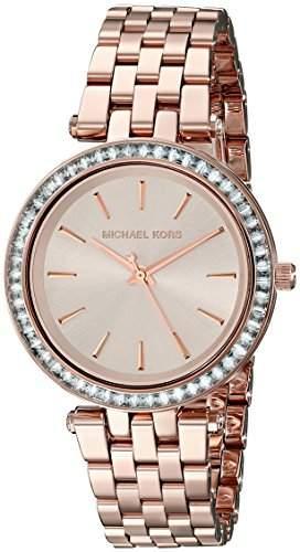 Micheal Kors Damen-Armbanduhr Analog Quarz Edelstahl MK3366