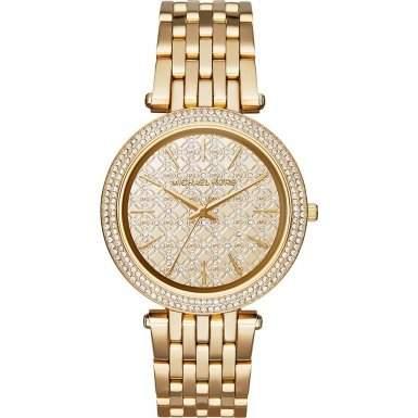 Micheal Kors Damen-Armbanduhr Analog Quarz Edelstahl MK3398