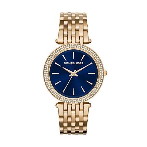 Micheal Kors Damen-Armbanduhr Analog Quarz Edelstahl MK6226