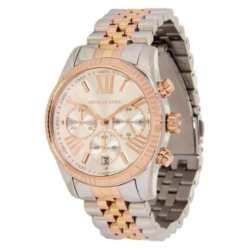 Micheal Kors Damen-Armbanduhr Analog Quarz Edelstahl MK5735