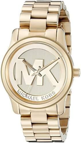 Micheal Kors Damen-Armbanduhr Analog Quarz Edelstahl MK5786