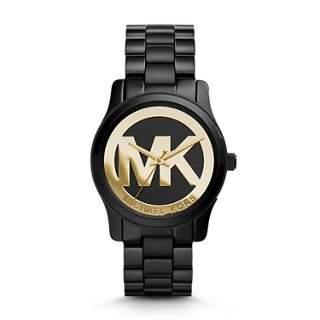 MICHAEL KORS Uhr Damenuhr Armbanduhr LederSchwarz MK6057 NEU