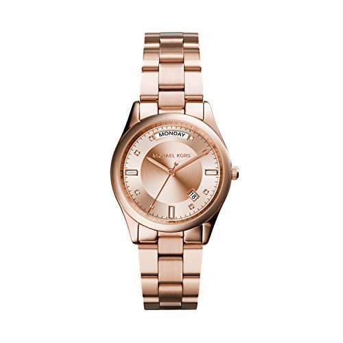 Micheal Kors Damen-Armbanduhr Analog Quarz Edelstahl MK6071
