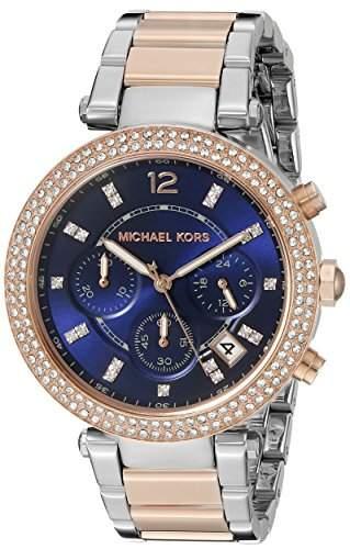 Micheal Kors Damen-Armbanduhr Analog Quarz Edelstahl MK6141