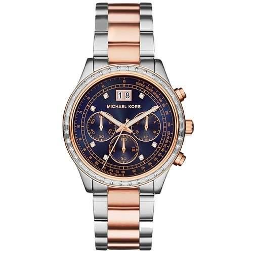 Micheal Kors Damen-Armbanduhr Analog Quarz Edelstahl MK6205