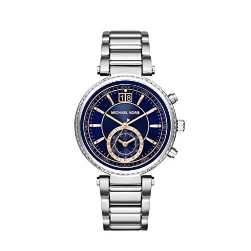 Micheal Kors Damen-Armbanduhr Analog Quarz Edelstahl MK6224
