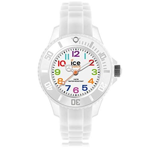 Ice-Watch Kinder-Armbanduhr Ice-Mini weiss MNWEMS12
