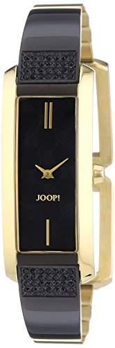 Joop! Damen-Armbanduhr Analog Quarz Leder JP101462005