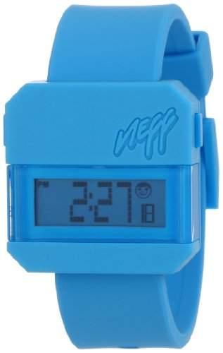 NEFF Unisex-Armbanduhr Digital Quarz Blau NF0203CYN