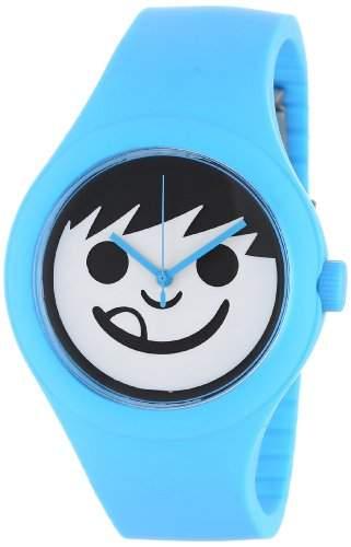 NEFF Unisex-Armbanduhr Analog Quarz Blau NF0206CYN