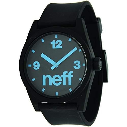 Neff, Arbanduhr Daily in vielen neuen Farben & Designs One Size  Einheitsgroesse, Black Turqoise