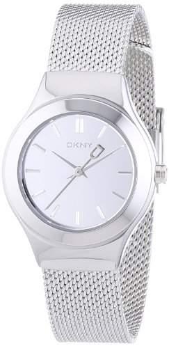 DKNY Damen-Armbanduhr XS Analog Quarz Edelstahl NY2103