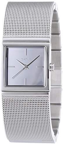 DKNY Damen-Armbanduhr XS Analog Quarz Edelstahl NY2112