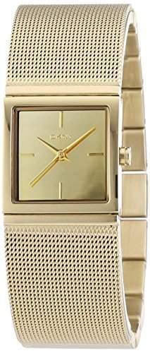 DKNY Damen-Armbanduhr XS Analog Quarz Edelstahl NY2113