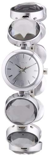 DKNY Damen-Armbanduhr XS Analog Quarz Edelstahl NY2123