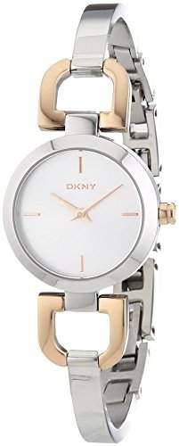 DKNY Damen-Armbanduhr Analog Quarz Edelstahl NY2137