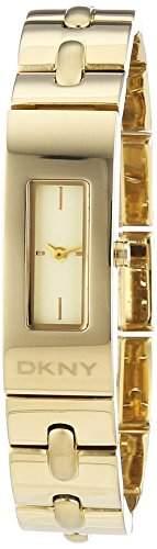 DKNY Damen-Armbanduhr XS Analog Quarz Edelstahl NY2139