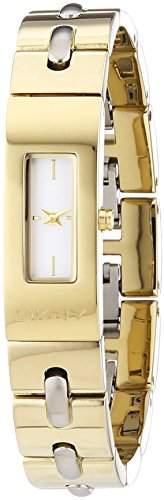 DKNY Damen-Armbanduhr Analog Quarz Edelstahl NY2140