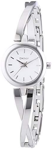 DKNY Damen-Armbanduhr Analog Quarz Edelstahl NY2169