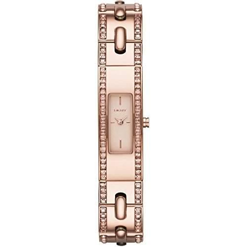 DKNY Damen-Armbanduhr XS Analog Quarz Edelstahl NY2176