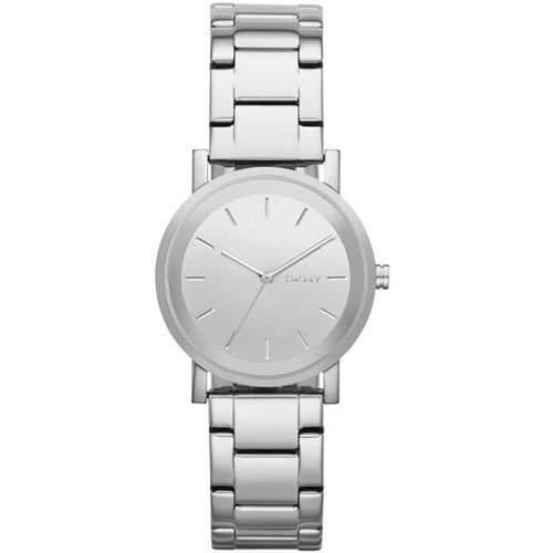 Uhr Dkny Donna Karan Soho Ny2177 Damen Silber