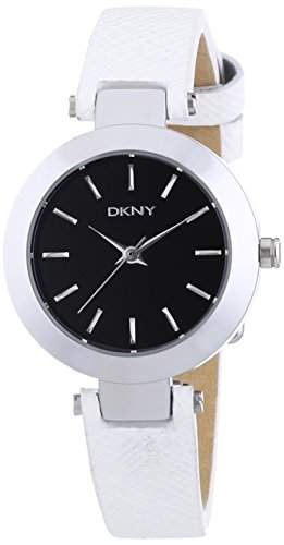 DKNY Damen-Armbanduhr XS Analog Quarz Leder NY2198