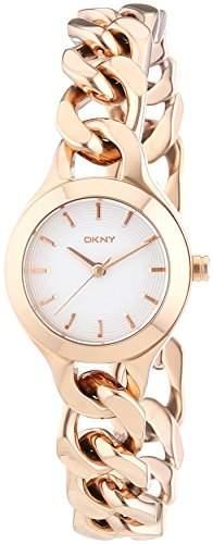 DKNY Damen-Armbanduhr XS Analog Quarz Edelstahl beschichtet NY2214