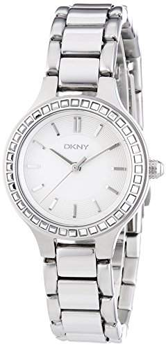 DKNY Damen-Armbanduhr XS Analog Quarz Edelstahl NY2220