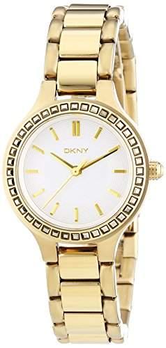 DKNY Damen-Armbanduhr XS Analog Quarz Edelstahl beschichtet NY2221