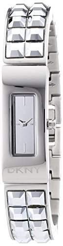 DKNY Damen-Armbanduhr Analog Quarz Edelstahl NY2227