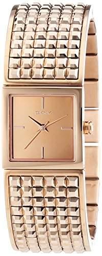 DKNY Damen-Armbanduhr Analog Quarz Edelstahl beschichtet NY2232