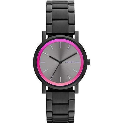 DKNY Damen-Armbanduhr XS Analog Quarz Edelstahl NY2265