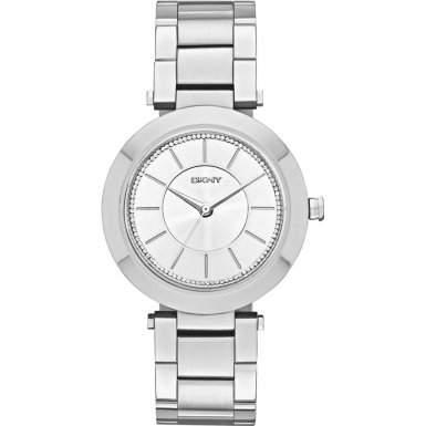 DKNY Damen-Armbanduhr Analog Quarz Edelstahl NY2285