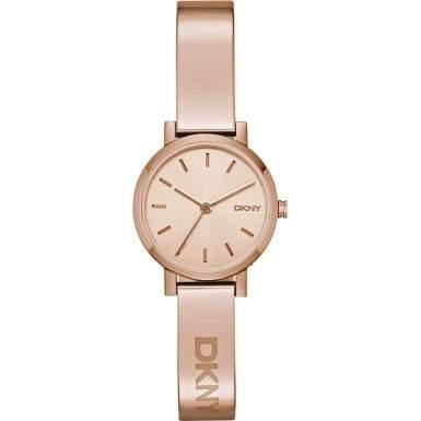DKNY NY2308 SOHO Uhr Damenuhr Edelstahl 50m Analog rose