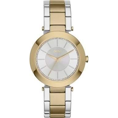 DKNY Damen-Armbanduhr Analog Quarz Edelstahl NY2334