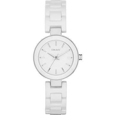 DKNY Damen-Armbanduhr Analog Quarz Keramik NY2354