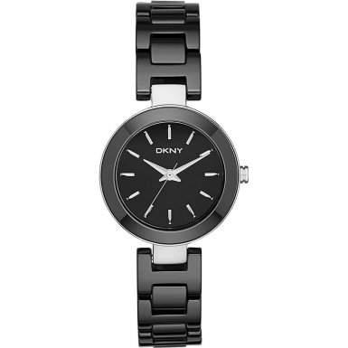 DKNY Damen-Armbanduhr Analog Quarz Keramik NY2355