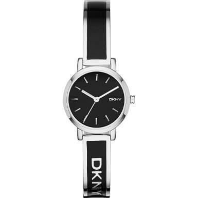 DKNY Damen-Armbanduhr Analog Quarz Edelstahl NY2357