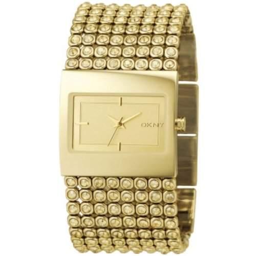 DKNY Damen-Armbanduhr Analog Quarz Edelstahl beschichtet NY4662