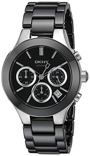 DKNY Damen-Armbanduhr Analog Quarz Keramik NY4914