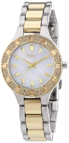 DKNY Damen-Armbanduhr XS Analog Quarz Edelstahl beschichtet NY8742
