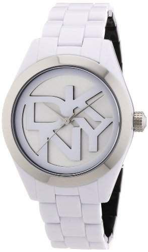 DKNY Damen-Armbanduhr Analog Quarz Plastik NY8754