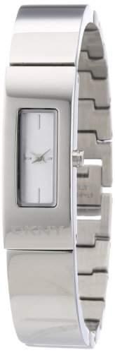 DKNY Damen-Armbanduhr Analog Quarz Edelstahl NY8756