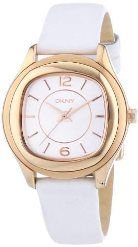 DKNY Damen-Armbanduhr Analog Quarz Kautschuk NY8808