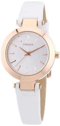 DKNY Damen-Armbanduhr XS Analog Quarz Leder NY8835